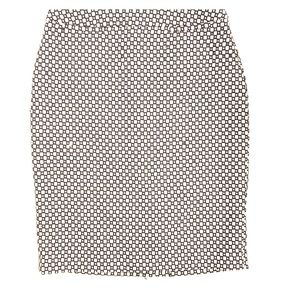 Halogen black & white skirt
